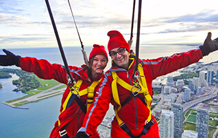 CN Tower Edge Walk Video