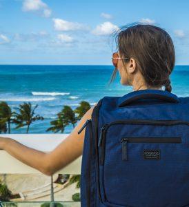 travel p=backpack from j world on kristins back