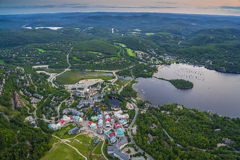 Mont Tremblant Helicopter View Helicopter Tour Wanderlust Festival Vacation Couple