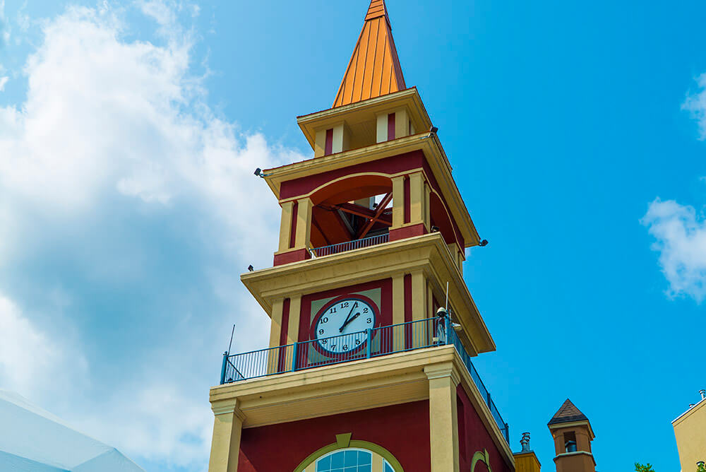 Mont Tremblant Village Clock