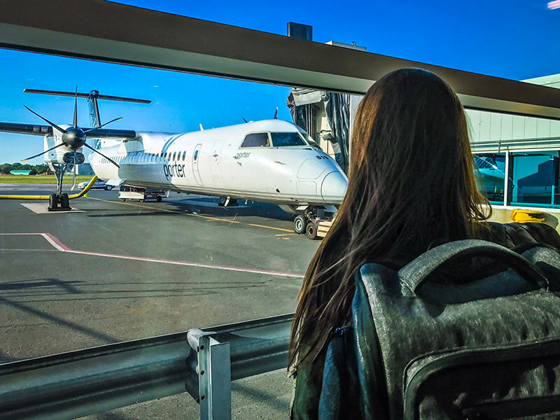 Porter Airlines Toronto to Mont Tremblant Wanderust Festival