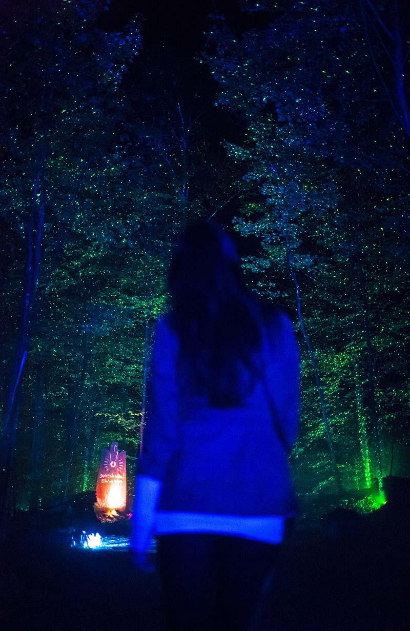 Tonga Lumina Lightshow Spirit Wanderlust Festival Mountain Earth Giant Vacation Couple Kristin Shadi