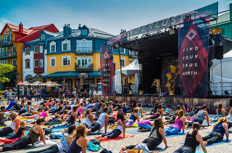 Wanderlust Festival Tremblant 2017 Yoga Group Yoga
