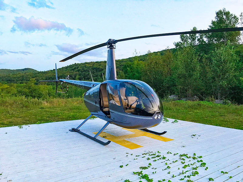 wanderlust festival mont tremblant helicopter ride tremblant