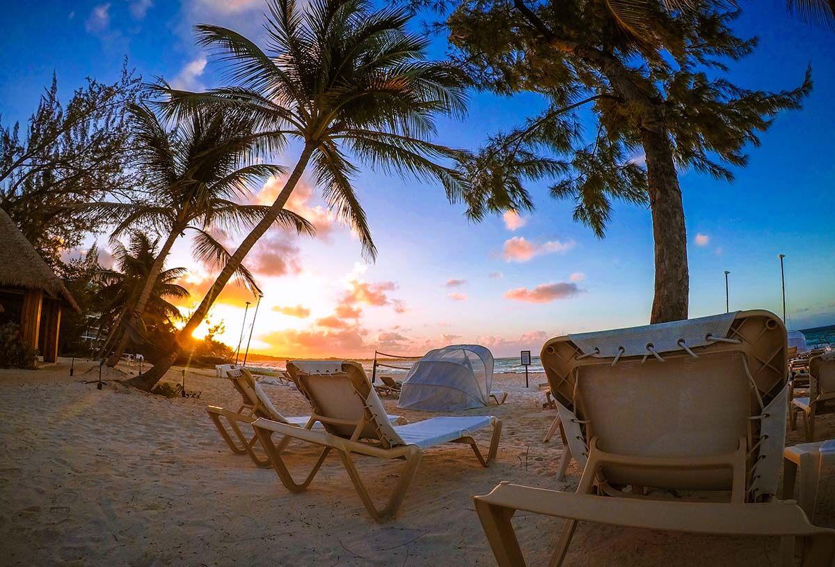 Morning Sunrise Beach View at Sandals Royal Barbados