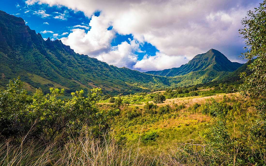 Kualoa Ranch view top things to do in Hawaii