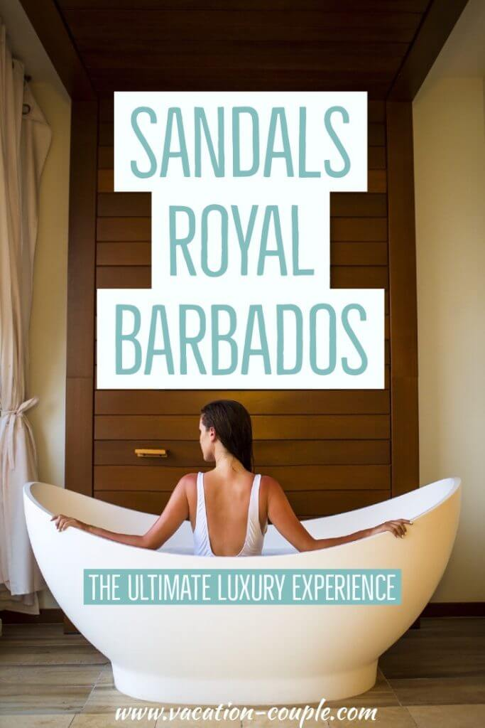 Sandals Royal Barbados Review Cover by Vacation Couple