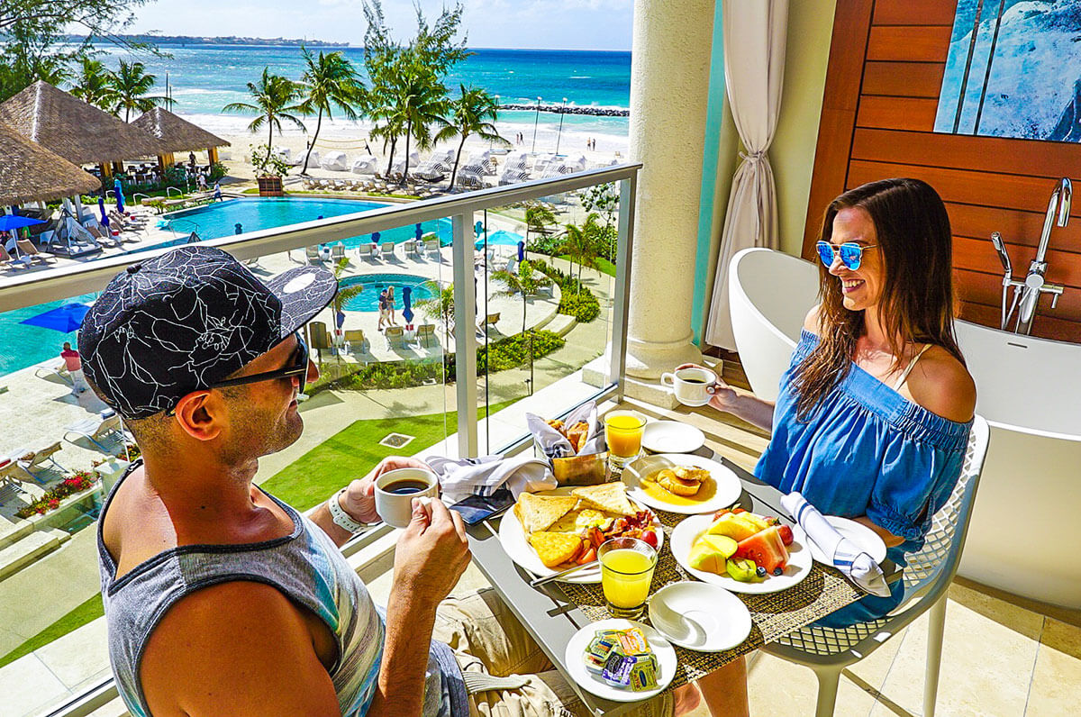 7094ee19f47e7 Sandals Resorts have been on our minds ever since we started traveling  together. The commercials showcasing beautiful people laying poolside