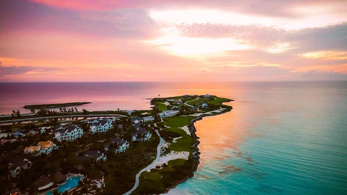 Grand Isle Resort & Spa Sunrise Aerial View