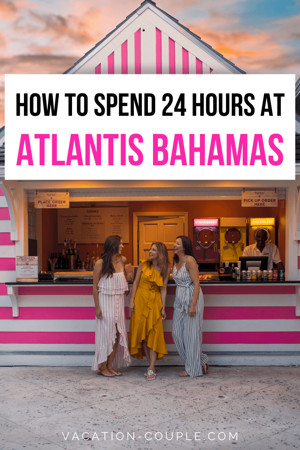 Wondering what to do in Atlantis Bahamas for the day? We cover everything from waterslides to food to The Lost City of Atlantis in this comprehensive travel guide! #AtlantisBahamas #TheBahamas #TravelGuide #ItsBetterInTheBahamas