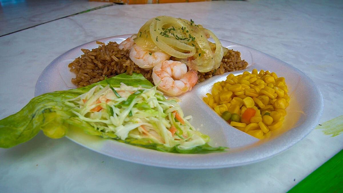 Santanas Shrimp Things to do in Exuma Little Exuma