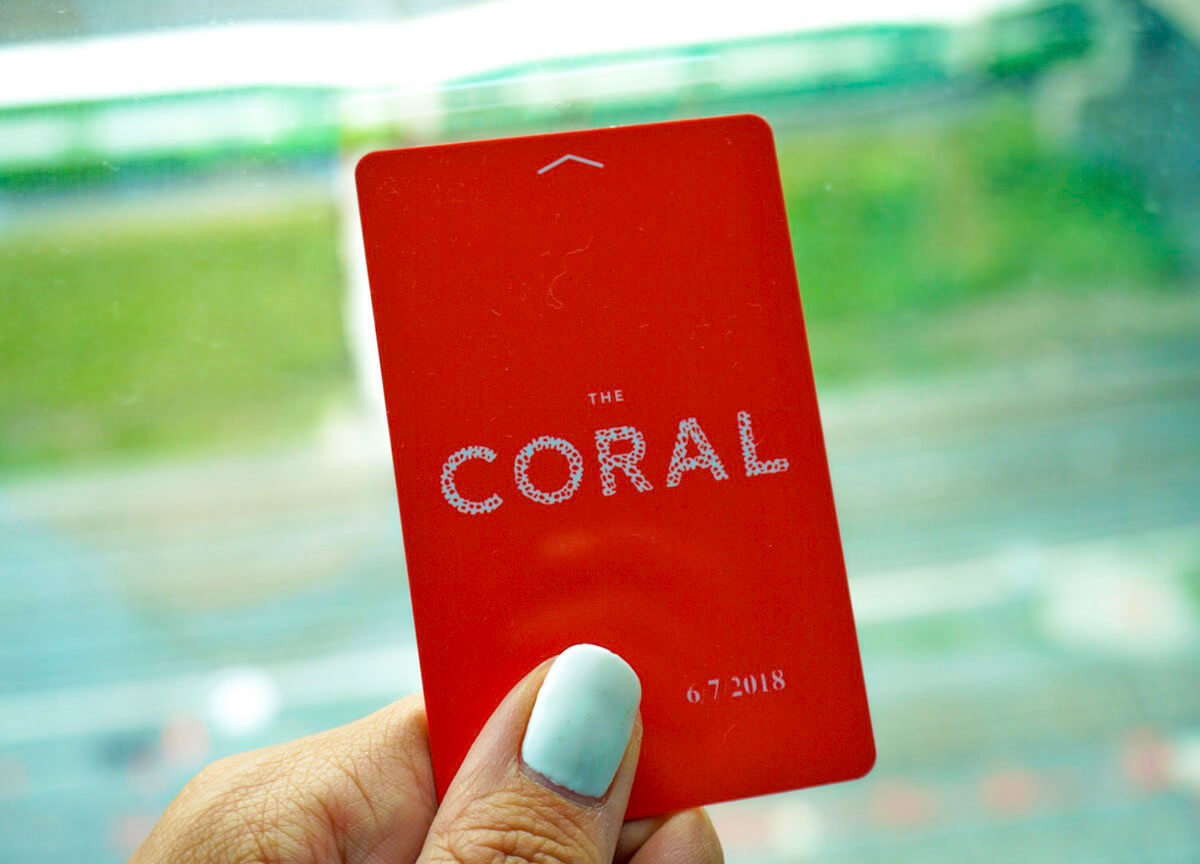 The Coral Key Card at Atlantis Bahamas to access things to do in Atlantis Paradise Island