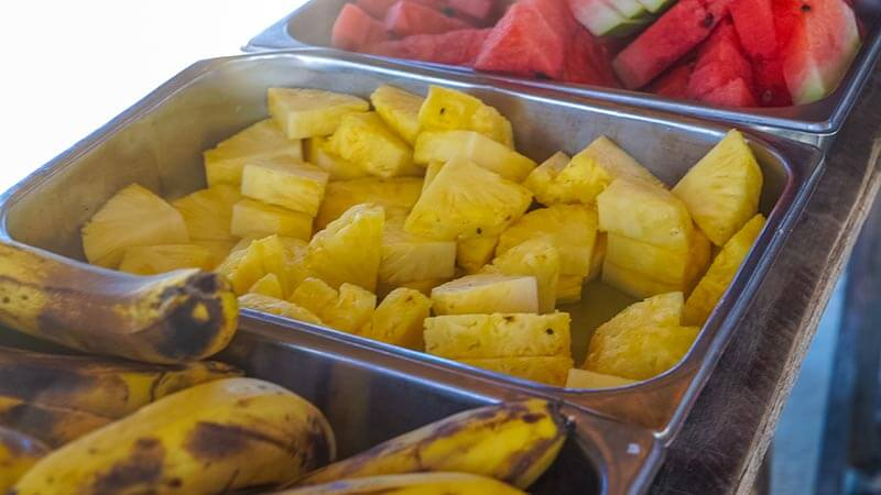 fruit at cayo arena paradise island things to do in puerto plata
