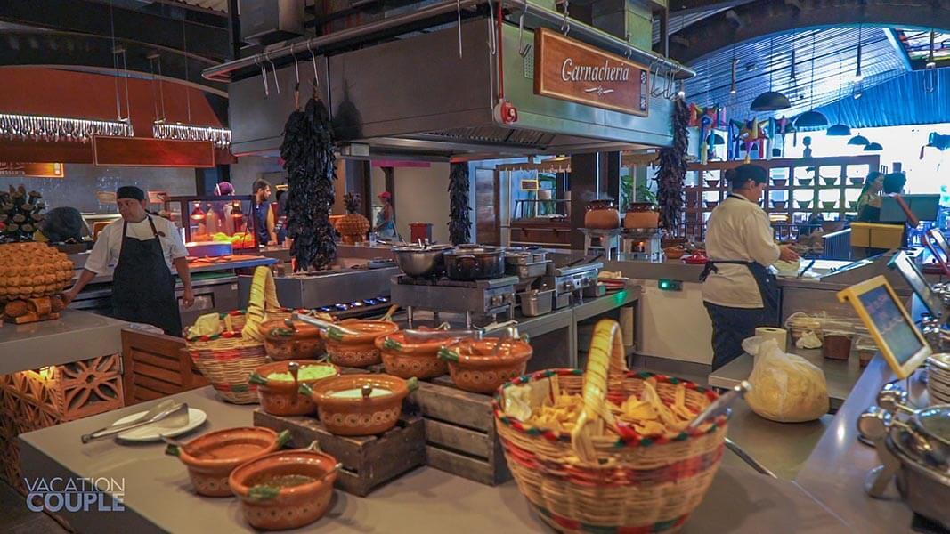 Hotel Xcaret Mexico Main Buffet Restaurant