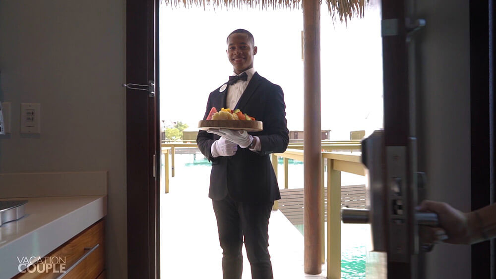 Sandals South Coast Jamaica BUtler Elite Service Room Service Butler