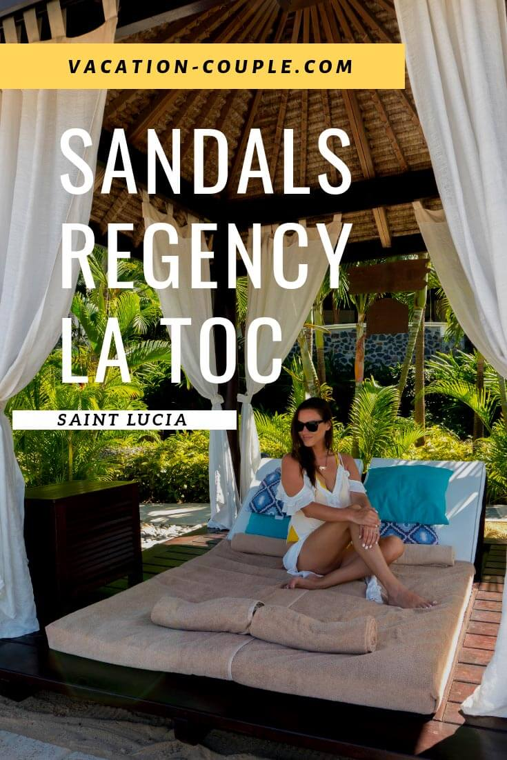 Wondering what to do, see, and eat at Sandals Regency La Toc in Saint Lucia? Read our guide on all the best spots, restaurants, beach, and pools. PLUS a detailed room tour you won't want to miss.