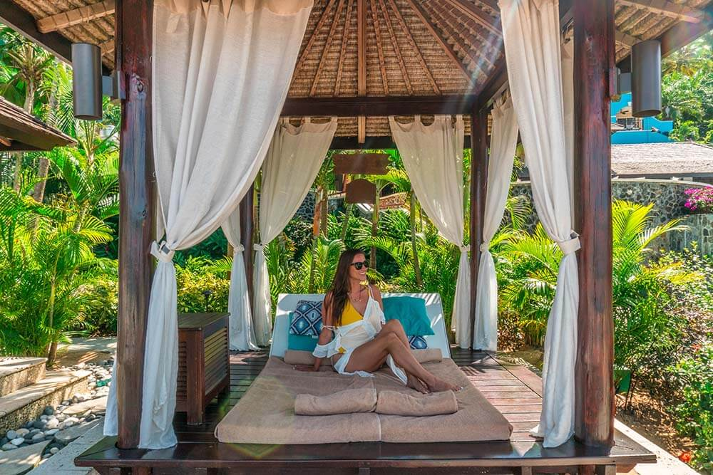 Sandals Regency La Toc Review Cabana Kristin of Vacation Couple