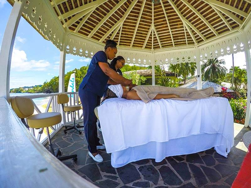 Sandals Regency La Toc Review Red Lane Spa Couples Massage