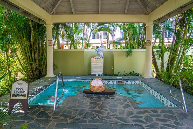 Sandals Regency La Toc Review Red Lane Spa Water