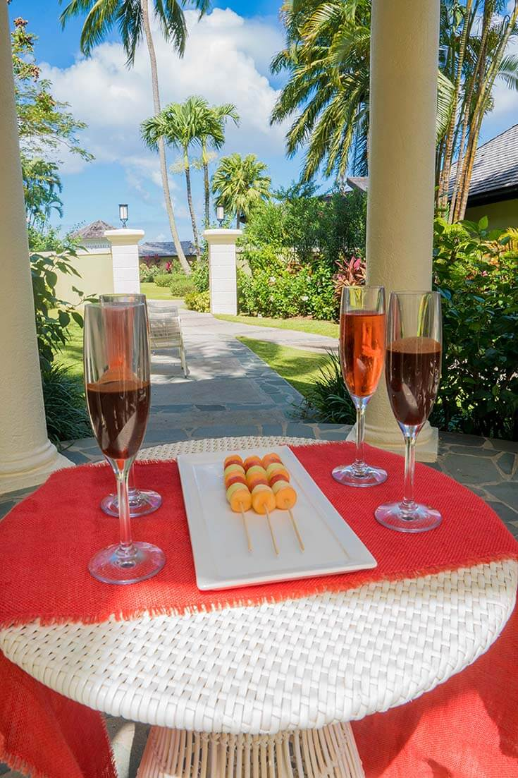 Sandals Regency La Toc Review Red Lane Spa Chocolate Fruit