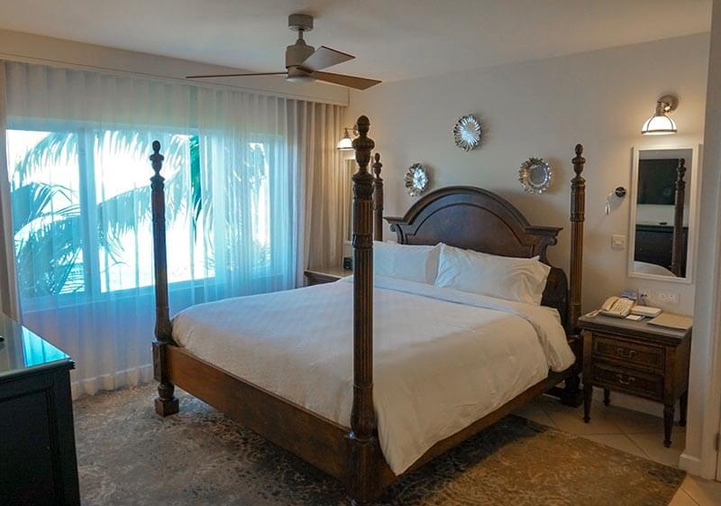 Sandals Regency La Toc Review Room RP1 King Size Bed Bedroom