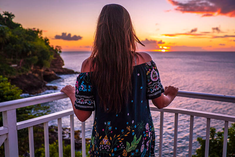 Sandals Regency La Toc Review Sunset View Sony Alpha by Vacation Couple in Saint Lucia