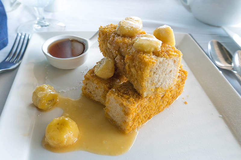 Sandals Regency La Toc Saint Lucia Breakfast at Armandos French Toast