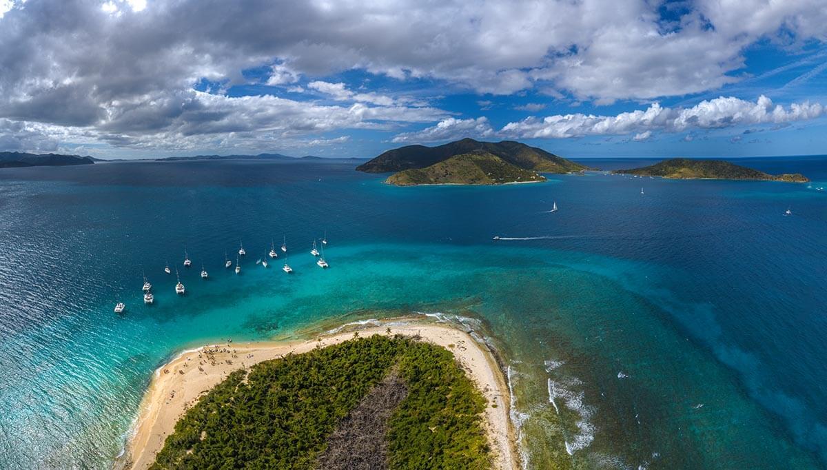 yacht week bvi panoramic view british virgin islands