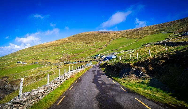 Ireland Road Trip Ireland one week road trip open road on wild atlantic way dingle peninsula