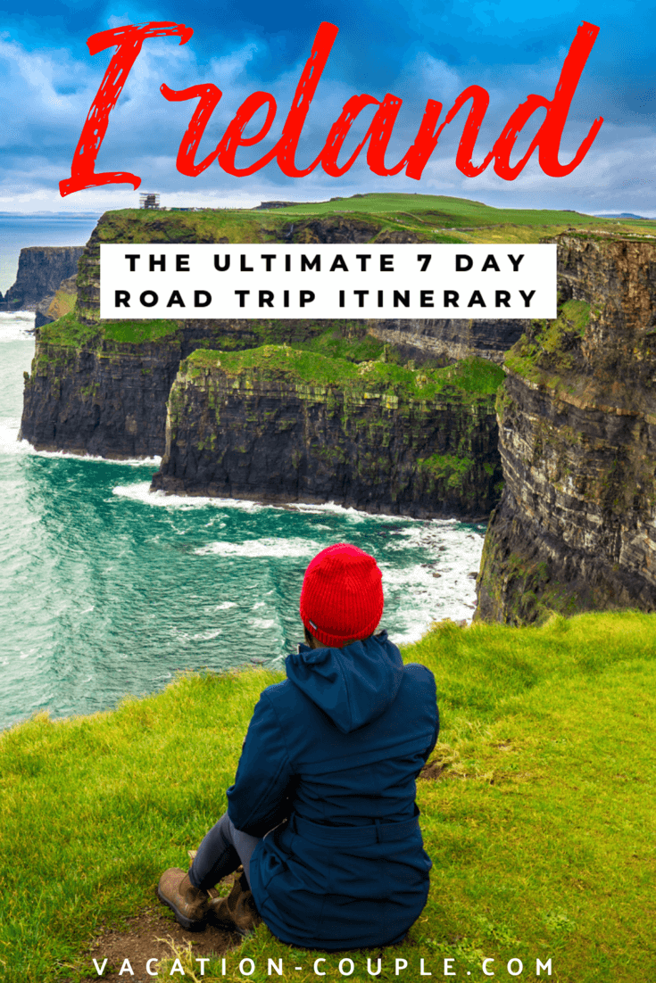Wondering what to do in Ireland? Check our this Ultimate One Week Ireland Road Trip Itinerary with all the sights, history, food, and music! What to do, see, eat, and where to stay in Ireland. #LoveIreland #TasteofIreland #Ireland