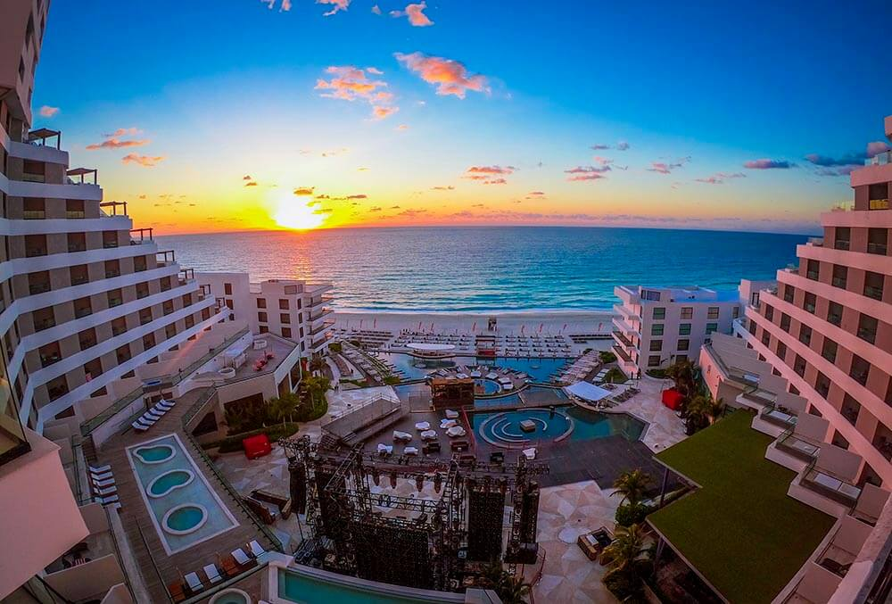 melody maker cancun beach view