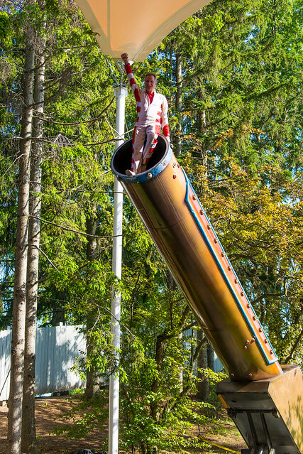 The Ultimate Thrills Circus at Canadas Wonderland Cannon