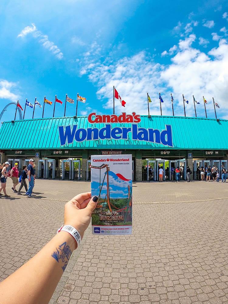 Canadas Wonderland Map