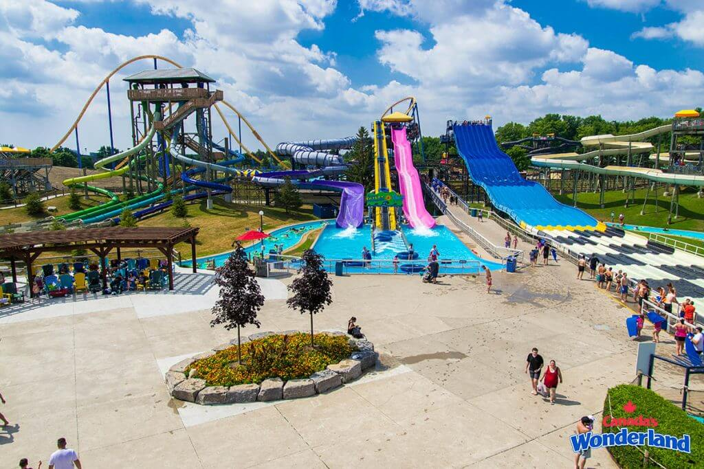 Splash Works Water Park at Canadas Wonderland