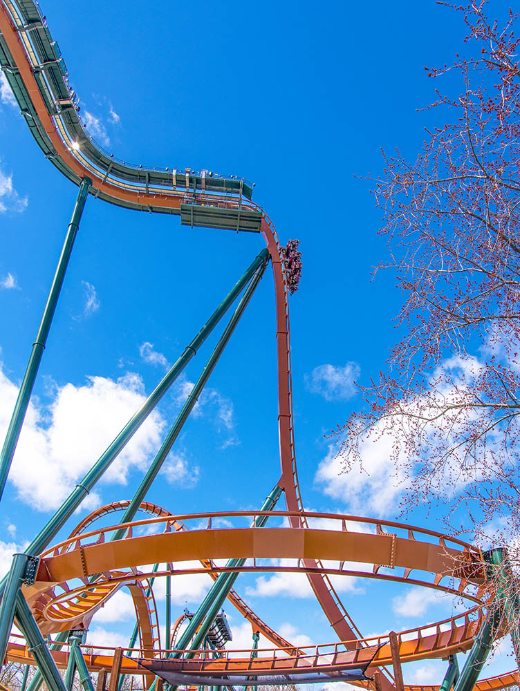 Canadas Wonderland Yukon Striker (photo provided by Canadas Wonderland).