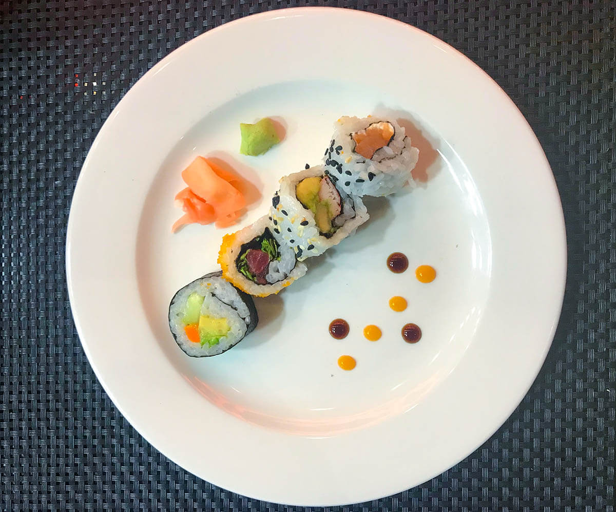 planet hollywood costa rica review east sushi at teppanyaki