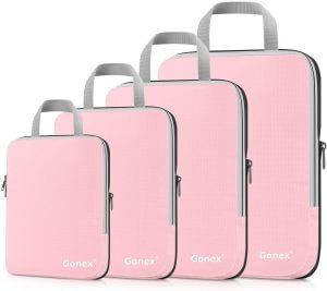 gonex packing cubes best gift for someone going travelling vacation couple
