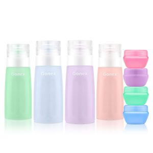 silicone travel containers best gifts for someone going travelling